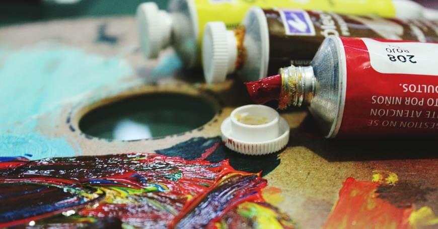 boje na paleti