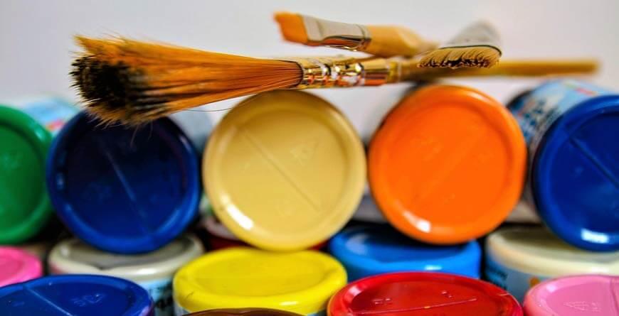 slikanje akrilnim bojama