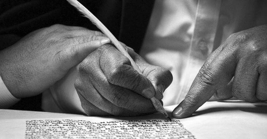 pisanje kaligrafskim perom