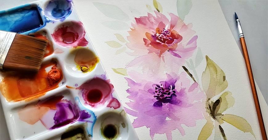 platno i boje za slikanje