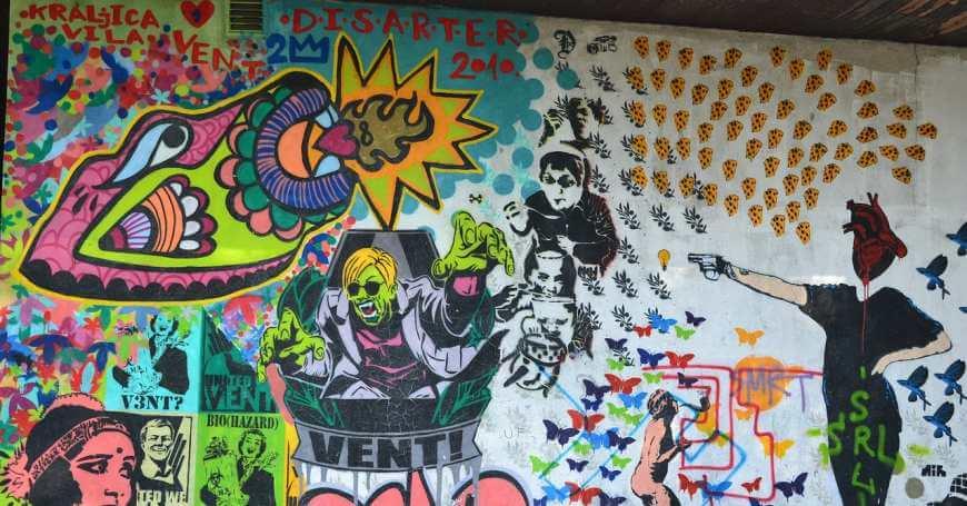 Murali na zidu