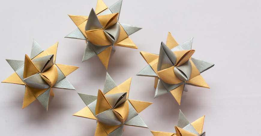 Origami u obliku zvdezde