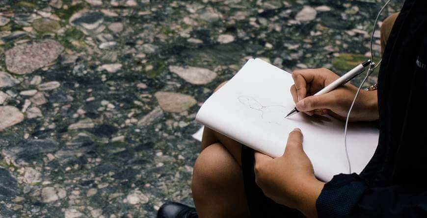 9 trikova za skiciranje za početnike