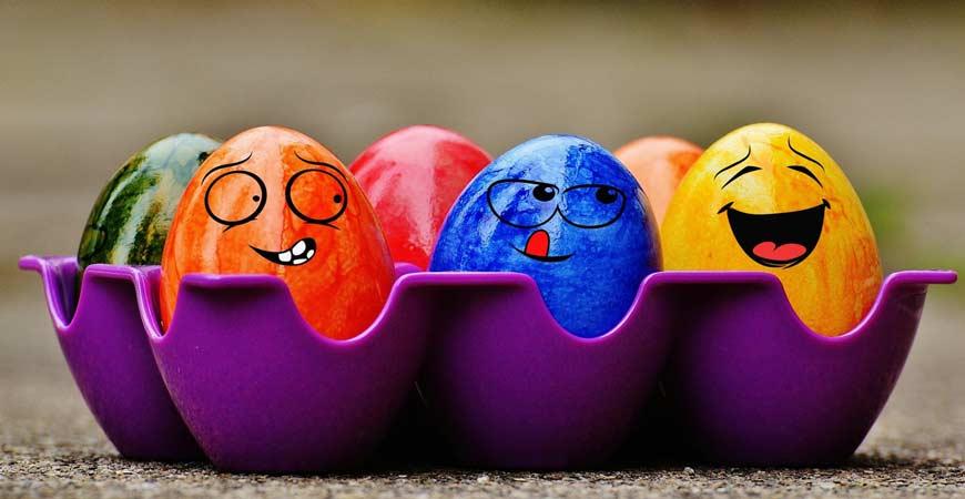 10 fantastičnih ideja za uskršnja jaja