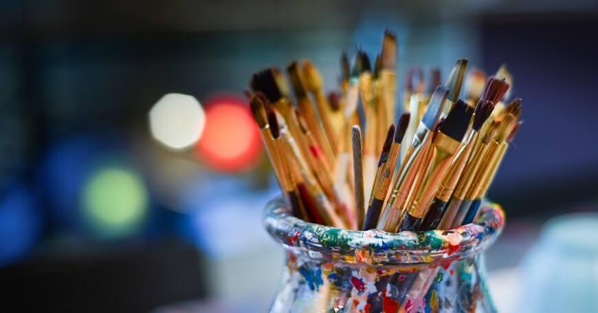 Četkice za slikanje – kako izabrati osnovni pribor za slikanje