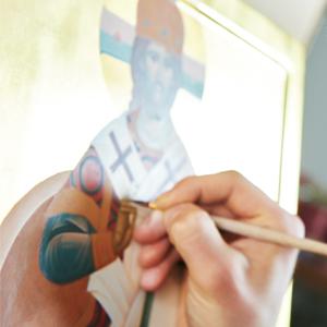 slikanje ikone
