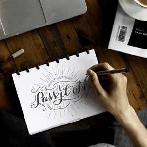 pisanje lepih slova