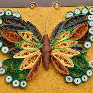 leptir izradjen kviling tehnikom