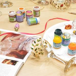 materijal i boje za slikanje po staklu