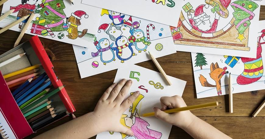 Kreativnost dece na proslavi rođendana