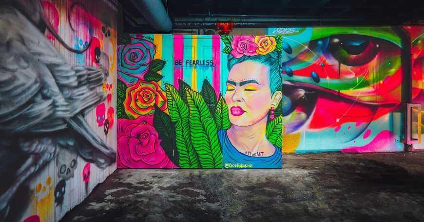 Frida Kahlo mural