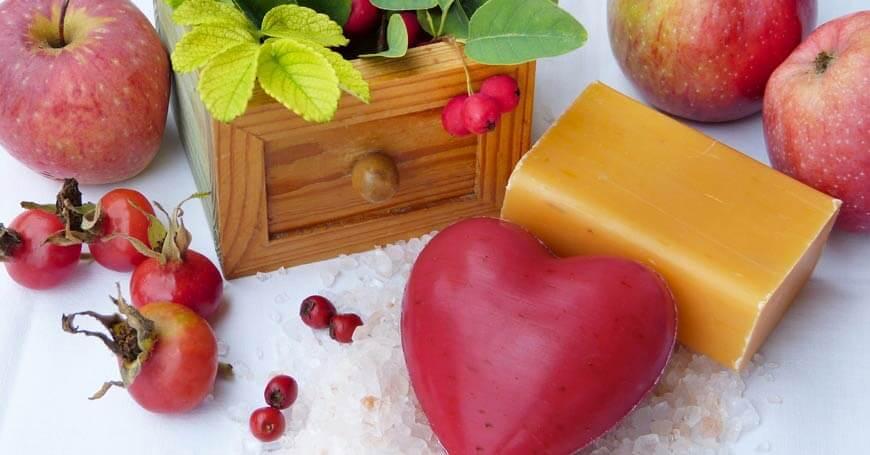 sapuni pored jabuka