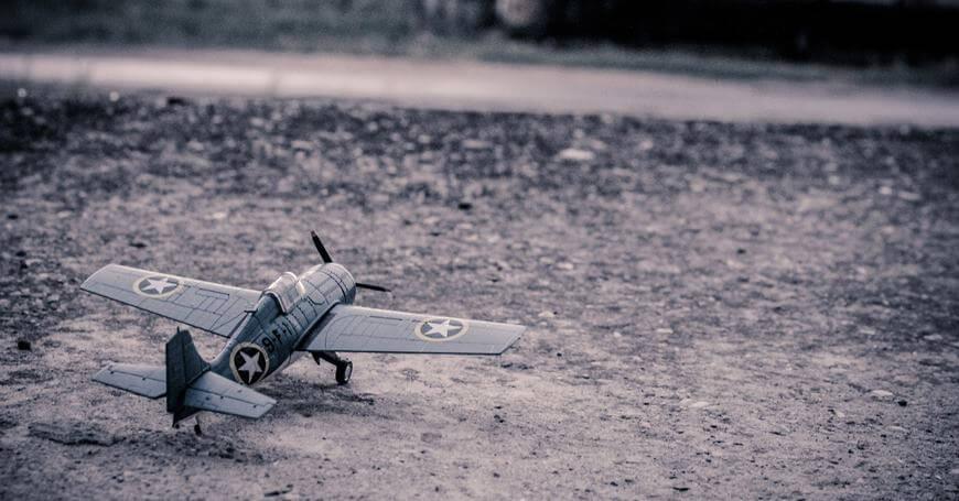 Kako se pravi maketa aviona - ratni avion