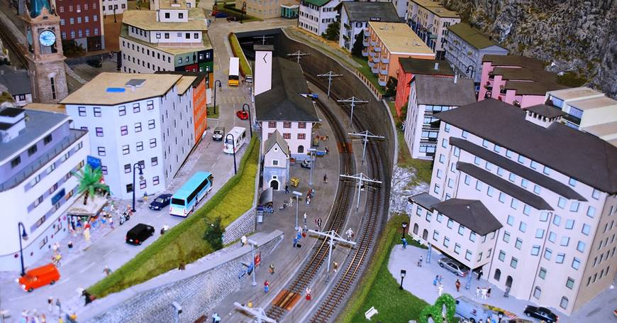 Minijature naselja i zgrada
