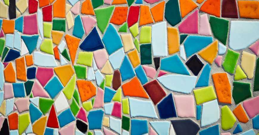 Umetnost mozaika i sareni zid