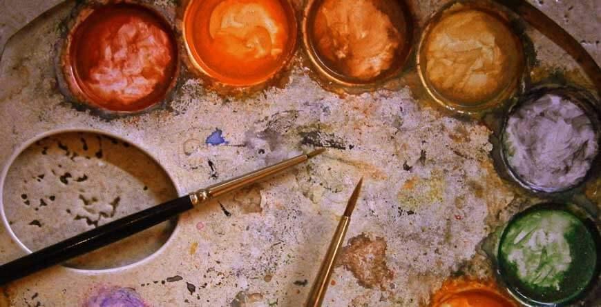 paleta vodene boje