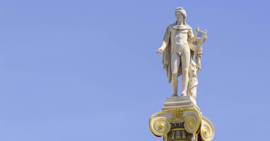 Grčko vajarstvo Statua-apolon-antika