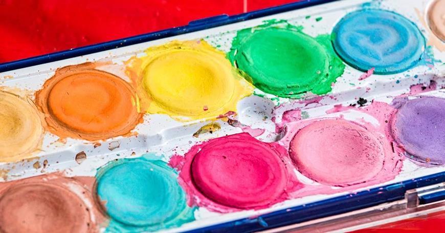 paleta vodenih boja