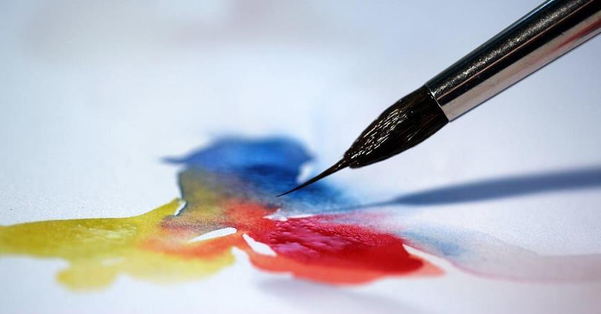bojenje vodenim bojama