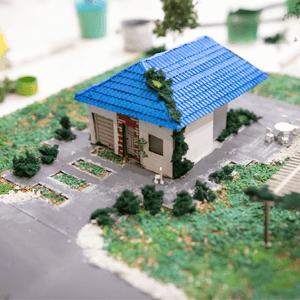 Završena maketa kuće