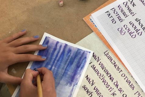 bah experience kurs kaligrafija