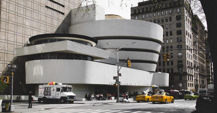 Fotografija Gugenhajm muzeja u Njujorku