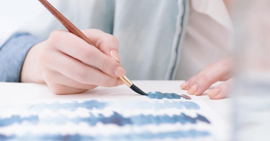 Akvarel botanika – kako dekorisati enterijer tako da deluje umirujuće