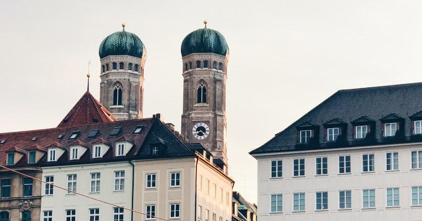 Pogled na kupolu katedrale u Minhenu